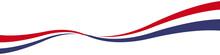 Gewellte Linie Welle Schwung Bogen US Amerika Mit QXP9 Datei