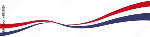 Obraz na plátně  gewellte Linie Welle Schwung Bogen US Amerika mit QXP9 Datei