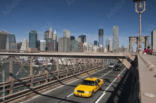 Fototapeta miasto nowy-jork-brooklyn-bridge