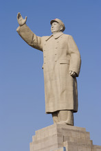 Mao's Statue In Kashgar, China