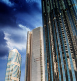 Skyscrapers and Dramatic Sky - 41938016