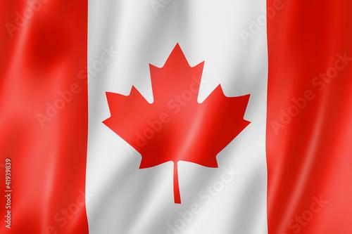 Fotografia  Canadian flag