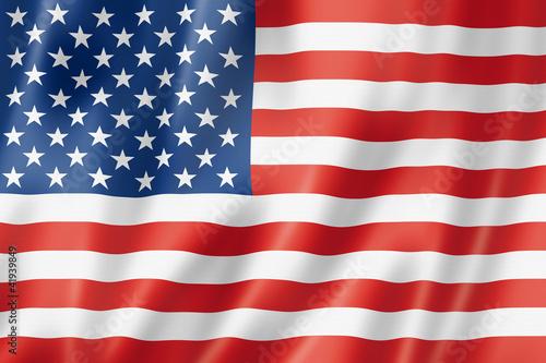 United States flag Wallpaper Mural