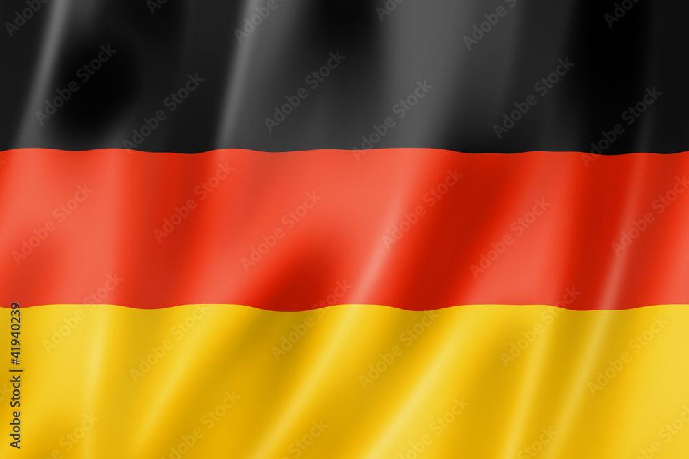 Fototapety, obrazy: German flag