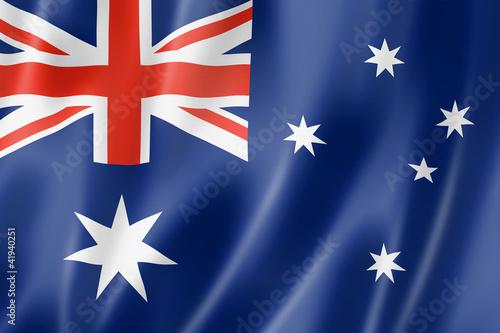 Obraz na plátně Australian flag