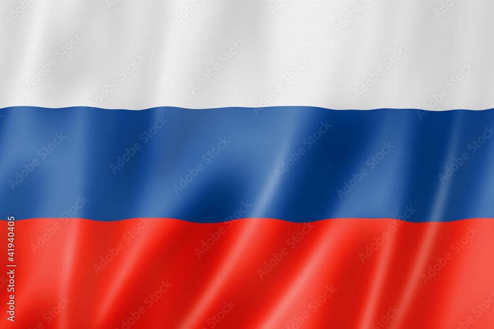 Fototapety, obrazy: Russian flag