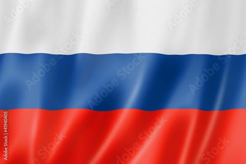 Fotografía  Russian flag