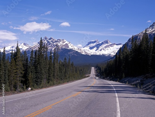 Fotografie, Obraz  Highway 93, Icefields Parkway, Canada © Arena Photo UK