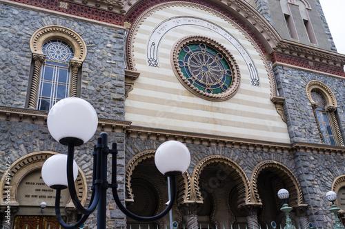 Photographie  Sinagoga di Torino, Piazzetta Primo Levi (5)