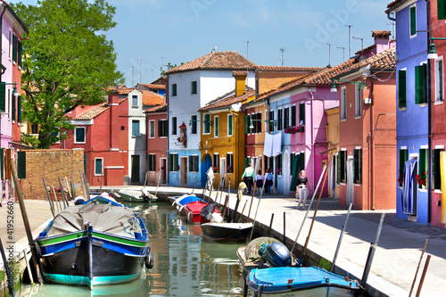 Obraz na plátně Venedig Burano