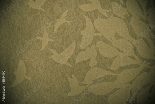 bird abstract background or texture Canvas Print