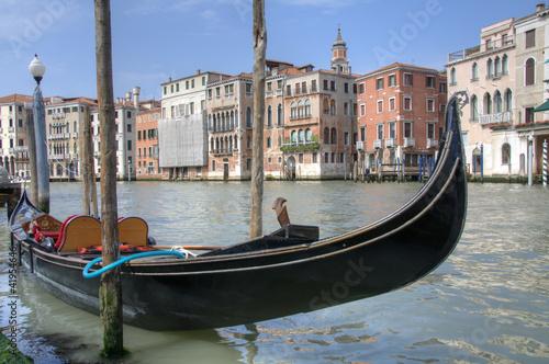 Papiers peints Gondoles Gondola in Venice, Italy