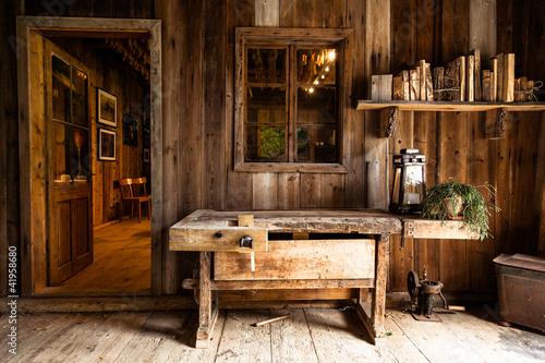 Photo Stube aus Holz