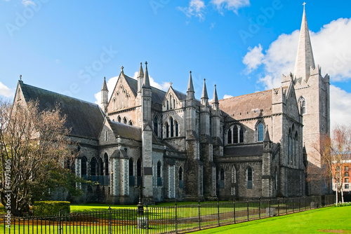 Photo  St. Patrick's cathedral in Dublin, Ireland