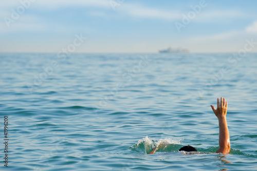 The drowning man Slika na platnu