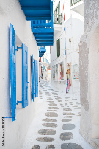 Architecture in the cycladic islands, Greece