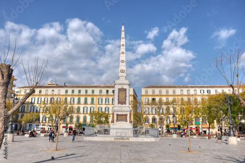 Fotografía  Plaza de la Merced, Málaga, España