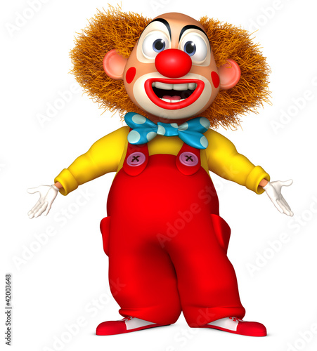 Foto op Aluminium Sweet Monsters happy clown