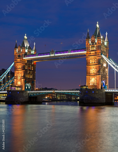 Poster Londres The Tower Bridge in London