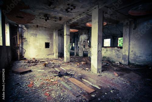Papiers peints Les vieux bâtiments abandonnés abandoned industrial building