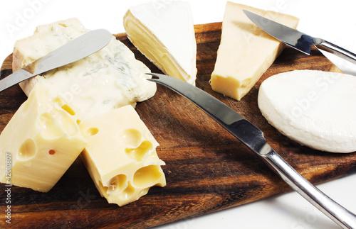 Staande foto Zuivelproducten Misto formaggi