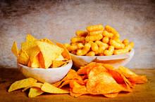 Chips, Nachos And Curls
