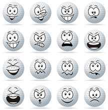 Emoticons Golf