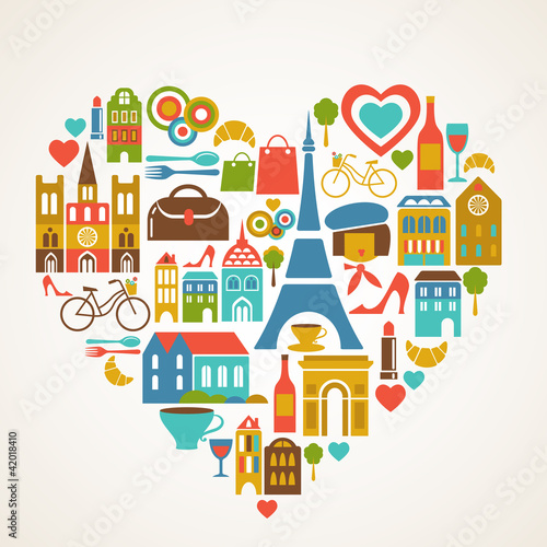 pars-love-ilustracji-wektorowych-z-zestawem-ikon
