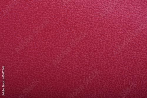 Foto op Aluminium Leder Rote Leder Oberfläche