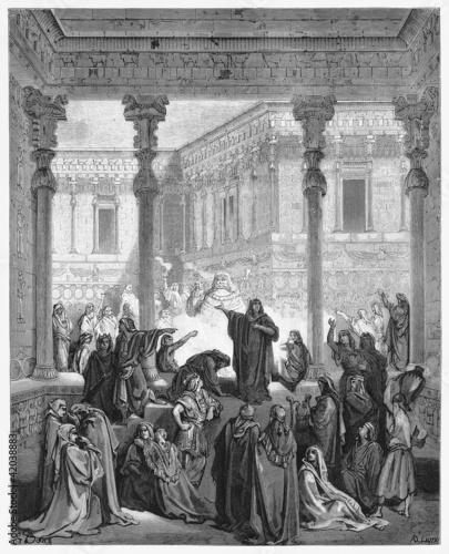 Daniel Confounding The Priests Of Bel Fotomurales