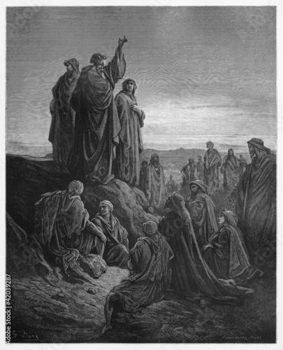 Fotografie, Obraz  Apostles Preach the Gospel