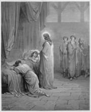 Jesus Raises The Daughter Of Jairus From The Dead