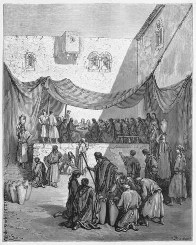 Carta da parati The Marriage In Cana