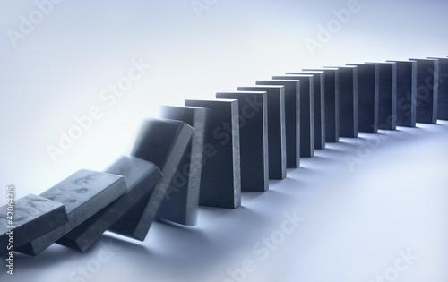 Valokuva  Dominosteine