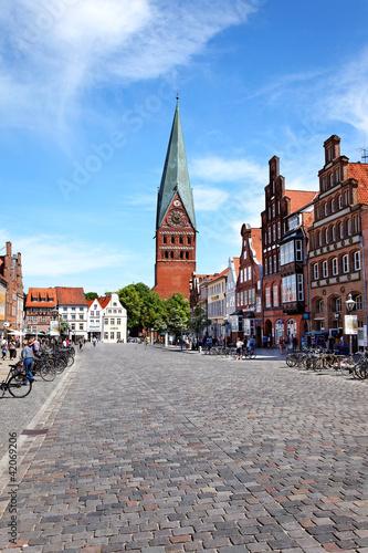 Fotografia, Obraz  Kirche St. Johannis am Sande, Lüneburg