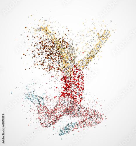 Dancing girl #42070289