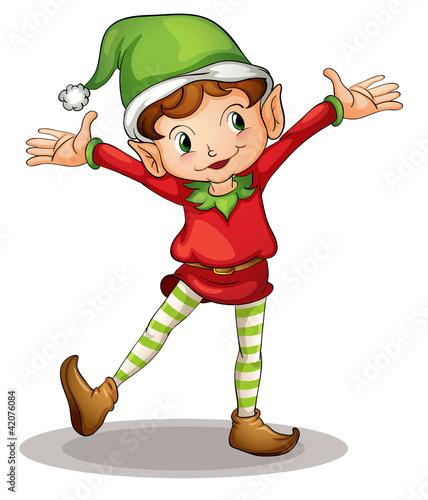 Foto auf Gartenposter Die magische Welt Little elf