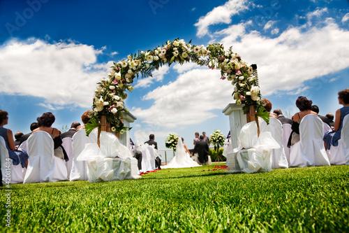 Fotografía  boda al aire libre