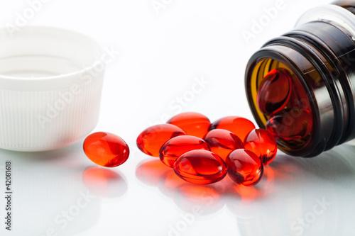 Fényképezés  Vitamin E capsules