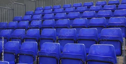 Poster Stadion Empty stadium seating