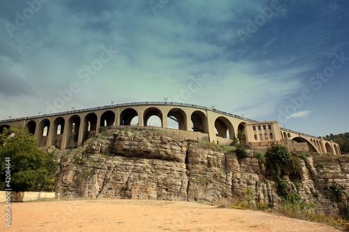 Wall Murals Algeria Pont S'idi Rached -constantine Algerie