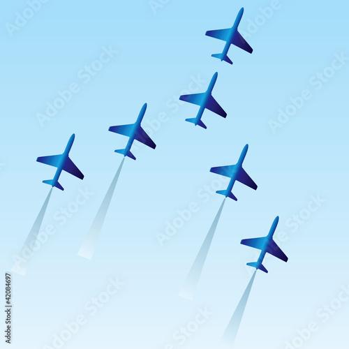 Vászonkép Squadron
