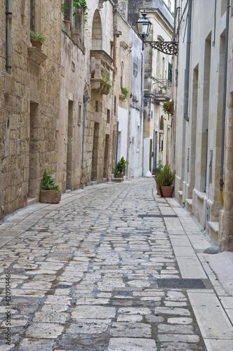 Alleyway. Martano. Puglia. Italy.