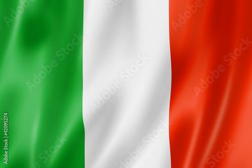 Fototapeta Italian flag obraz