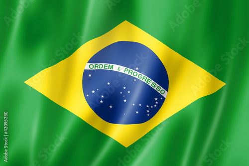 Photo  Brazilian flag