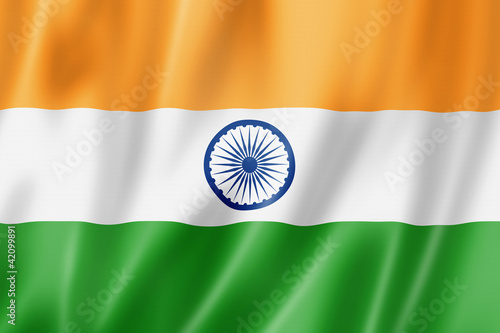 Fotografia Indian flag