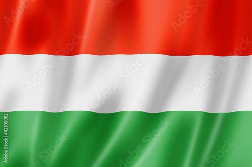 Fotografia  Hungarian flag