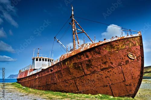 Poster Naufrage Garður Shipwreck