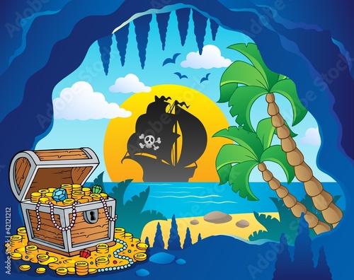 Photo Stands Pirates Pirate cove theme image 1