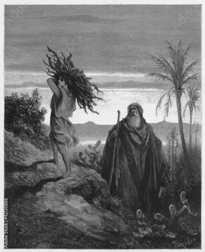 The testing of Abraham's faith Fotomurales